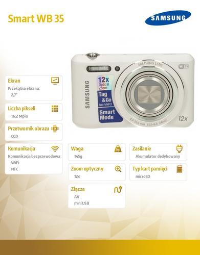 Samsung Smart WB 35 white