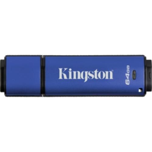 Kingston DataTraveler Vault Privacy 64GB USB 3.0 256bit AES Encrypted