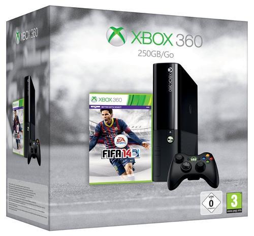 Zestaw Xbox 360 250GB ST + Fifa 14
