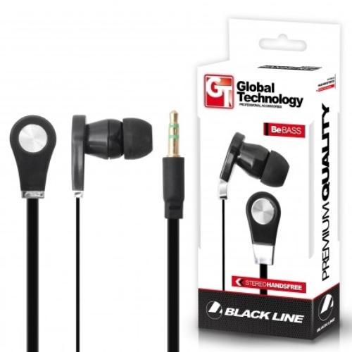 Global Technology HF Be BASS iPH.4/3G/3GS/2G/iPod CZARNY