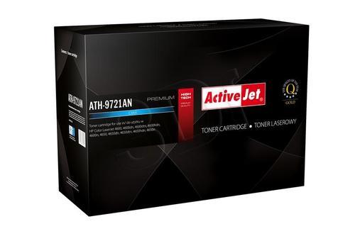 ActiveJet ATH-9721AN cyan toner do drukarki laserowej HP (zamiennik 641A C9721A) Premium