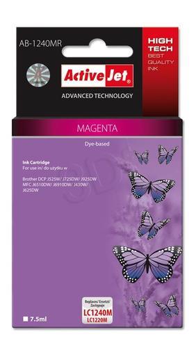 ActiveJet AB-1240MR tusz magenta do drukarki Brother (zamiennik Brother LC1240M, LC1220M) Premium