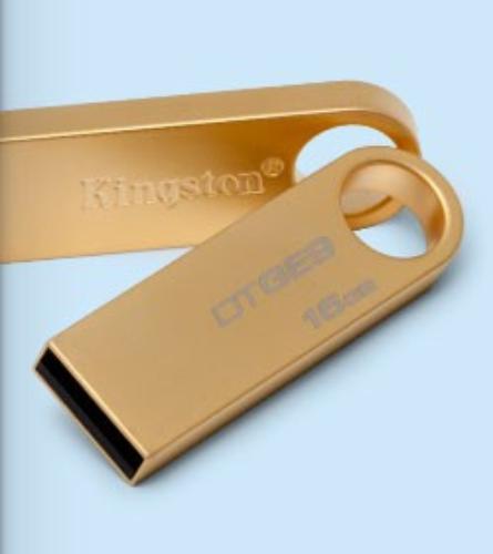 Kingston Data Traveler GE9 8GB USB2.0 Gold Metal