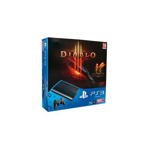 PS3 500GB + DIABLO III