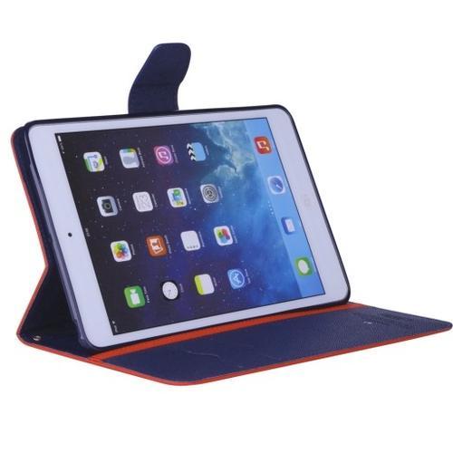 """WEL.COM Etui Fancy Diary do LG G pad 8.3"""" czerwono-granatowe"""