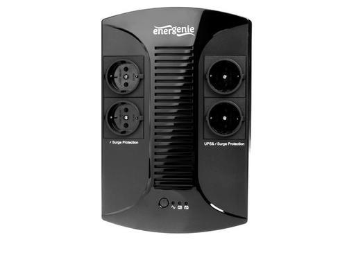 ENERGENIE UPS 650VA Line-Interactive,4xSchuko,LED