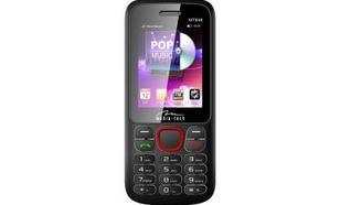 Media-Tech DUAL PHONE HQ TELEFON GSM NA DWIE KARTY SIM CZARNO - CZERWONY