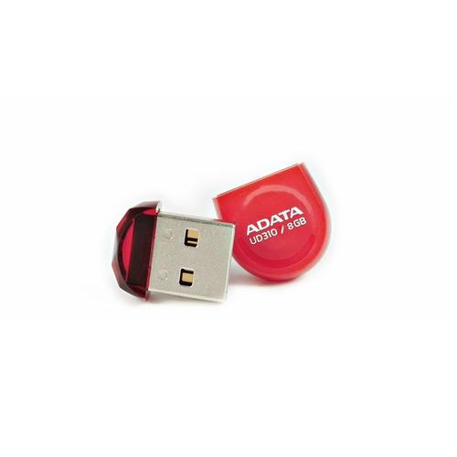 A-Data DashDrive Durable UD310 8GB USB2.0 czerwony - micro