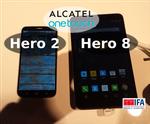 Zdjęcia Alcatel OneTouch Hero 8 i Hero 2