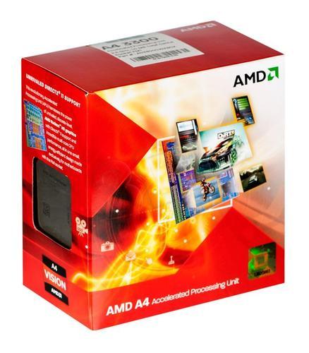AMD APU X2 A4-3300 2.5GHz BOX (FM1) (65W)