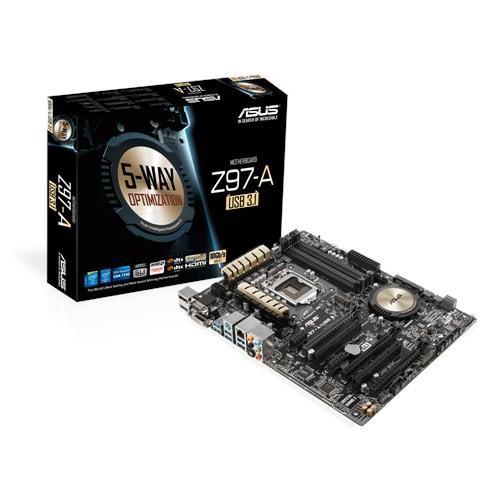 Asus Z97-A/USB 3.1 s1150 Z97 4DDR3 RAID/USB3.1 ATX