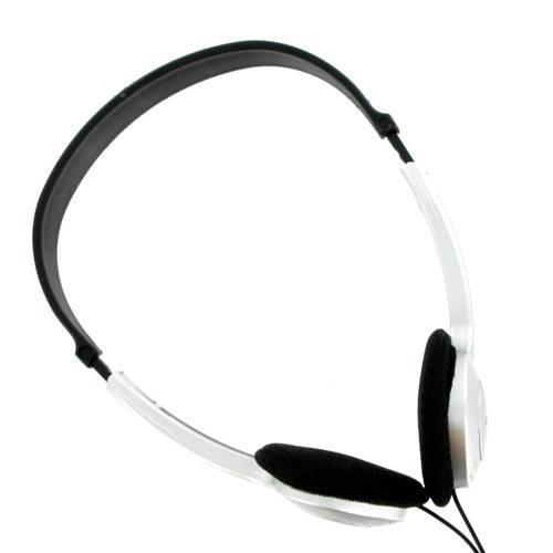 4World Słuchawki stereo nagłowne stereo z regulacją głośności 04162