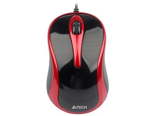 A4 TECH V-Track N-350-2 Czarny/Czerwony USB