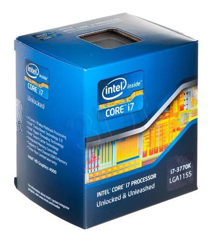 CORE I7 3770k 3.5GHz LGA1155 BOX