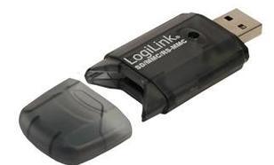 LogiLink Czytnik kart pamięci USB 2.0, SD/MMC, CR0007