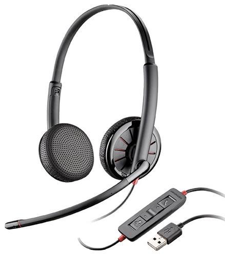 Plantronics Blackwire C325 Stereo USB mikrofon, redukcja szumów