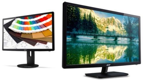 Acer 19'' Monitor B193LAOymdr 48cm 4:3 LED 5ms 100M:1 DVI regulacja-wysokości obrotowy-ekran głośniki grafitowy TCO5.2 (zabezpieczenie kodem PIN)
