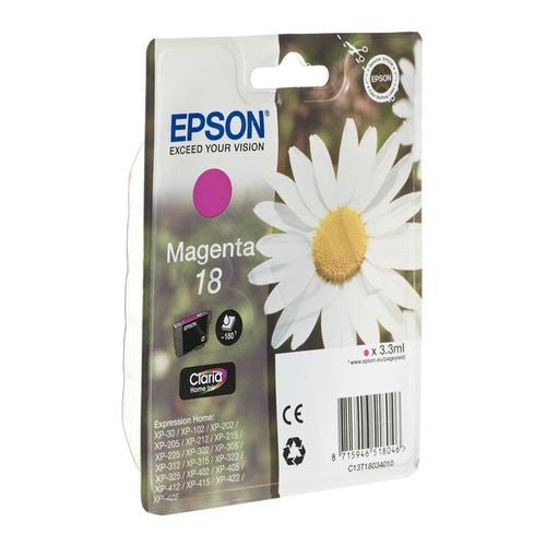 EPSON Tusz Czerwony T1803=C13T18034010, 180 str., 3.3 ml
