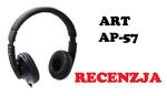 ART AP-57 - recenzja budżetowych słuchawek multimedialnych