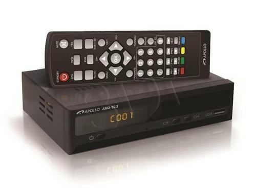 Apollo AHD-123 Dekoder DVB-T i odtwarzacz FHD