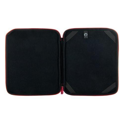 4World Etui Pikowane | tablet | 270x220x20mm | 9.7'' | czerwone