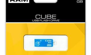 GoodRam Cube 8GB USB2.0 Niebieski