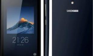 DooGee X3 Dual SIM Czarny (PH2044)