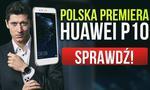 Robert Lewandowski zaprezentował Huawei P10