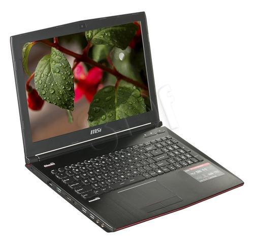 MSI GE62 2QE-051XPL i7-4720 8GB 15,6 1TB 965 BSY