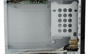"""LC-Power OBUDOWA CASE-1370WMI MINI-ITX 1X 5,25: 1X 3,5"""" HD-AUDIO ZASILACZ LC75ITX MAX 75W BIALA"""