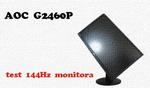AOC G2460P test 144Hz monitora dla graczy