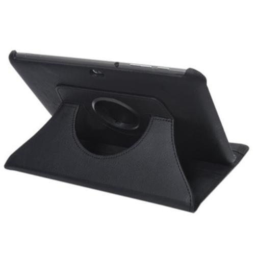 WEL.COM Etui obrotowe 360 stopni do samsung P7300 czarne