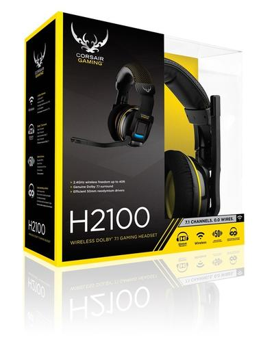 Corsair Gaming H2100 Wireless 7.1 BLACK