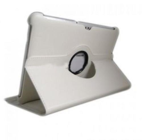 WEL.COM Etui obrotowe 360 stopni Samsung N8000 / N8010 białe