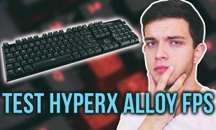 Kompaktowa Klawiatura dla Graczy - HyperX Alloy FPS