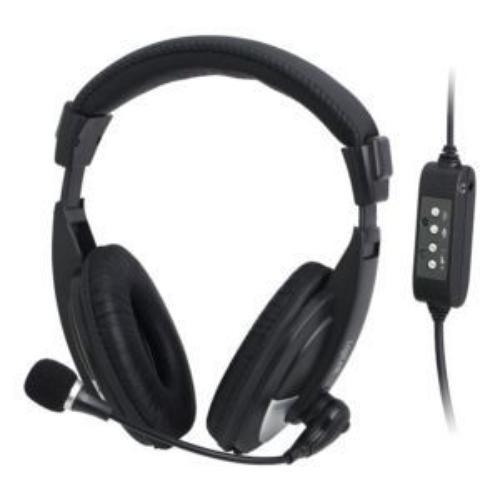 LogiLink Słuchawki z mikrofonem, stereo, High Quality