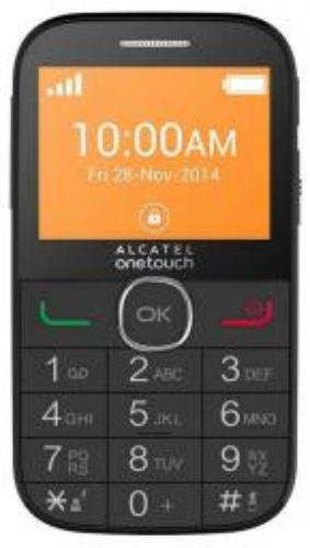 Alcatel OneTouch 2004G Czarny (2004G-2AALCZ1)