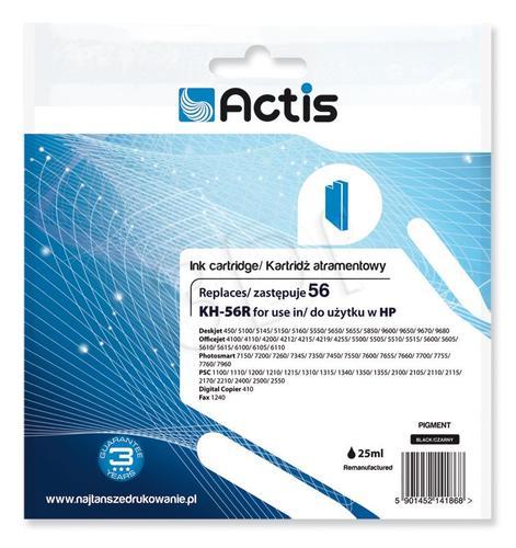 Actis KH-56R tusz czarny do drukarki HP (zamiennik HP 56 C6656A) Standard