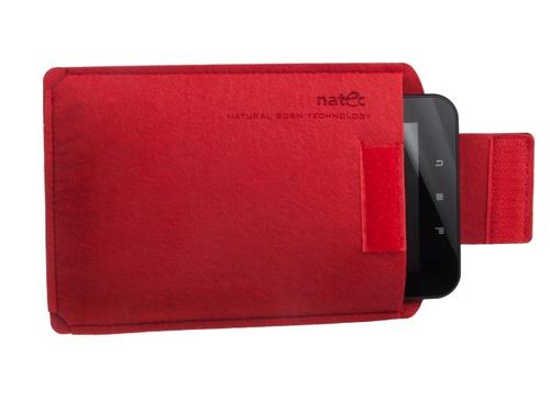 NATEC Etui Tablet SHEEP 8'' Red-Black