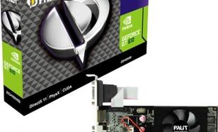 Palit GeForce CUDA GT610 2GB DDR3 PCI-E 64BIT DVI/HDMI/DS FAN