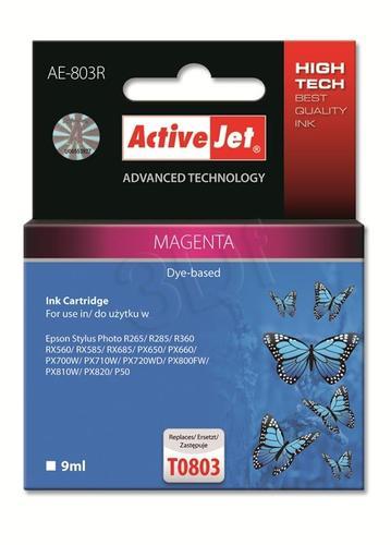 ActiveJet AE-803R tusz magenta do drukarki Epson (zamiennik Epson T0803) Premium