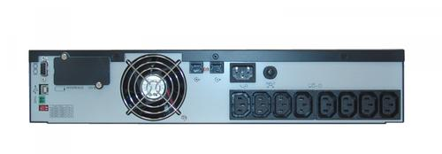 Lestar UPS JsRT-1100 Sinus LCD RT 8xIEC USB RS RJ 45