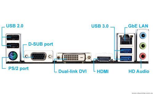 Gigabyte GA-F2A68HM-HD2 FM2+ A68H 2DDR3 USB3/RAID uATX