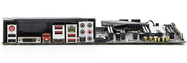 MSI Z270 Gaming Pro Carbon porty