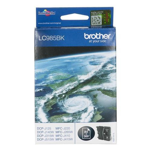 BROTHER Tusz Czarny LC985BK=LC-985BK, 300 str.
