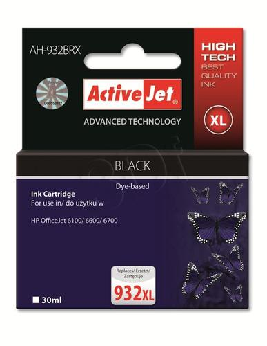ActiveJet AH-932BRX tusz czarny do drukarki HP (zamiennik HP 932XL CN053AE) Premium