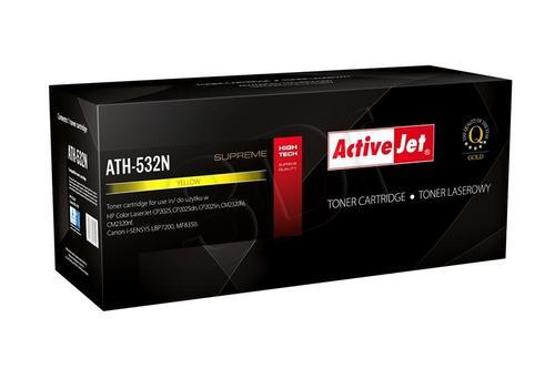 ActiveJet ATH-532N żółty toner do drukarki laserowej HP (zamiennik 304A CC532A) Supreme