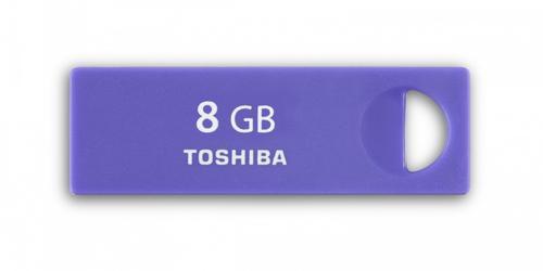Toshiba ENSHU 8GB USB 2.0 PURPLE-BLUE