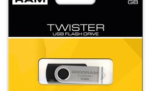 GoodRam Twister 4GB USB 2.0 Czarny