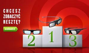 TOP 10 Okularów 3D - Ranking Sierpień 2015